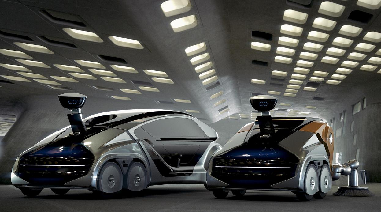 EDAG CityBot, los autos multiusos del futuro