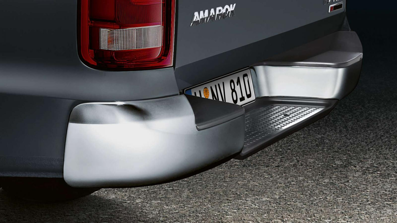 La Volkswagen Amarok Black Edition parte de la versión Highline