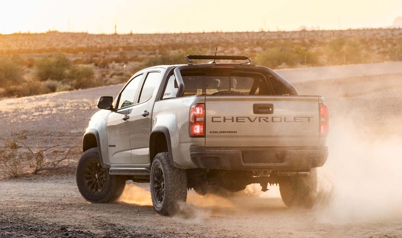 La Chevrolet Colorado 2021 busca mantenerse vigente en el segmento