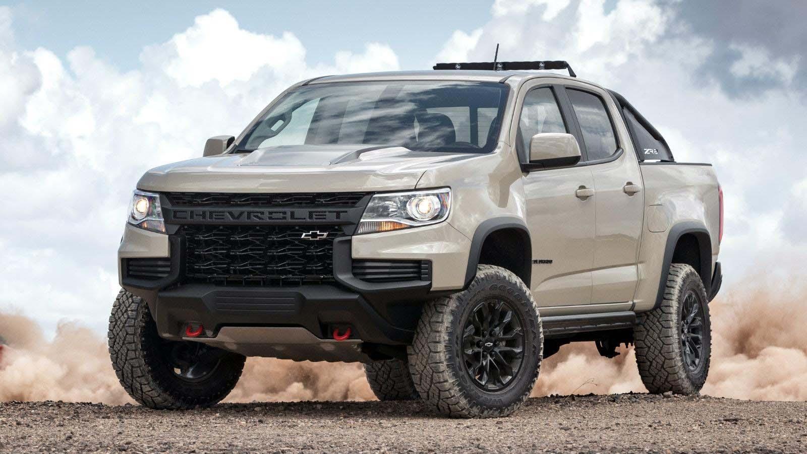 La Chevrolet Colorado 2021 tendrá una imagen renovada