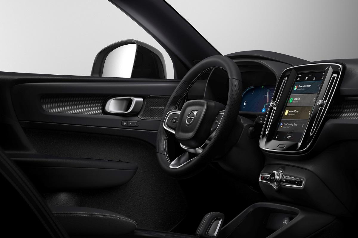 Volvo XC40 eléctrica interior