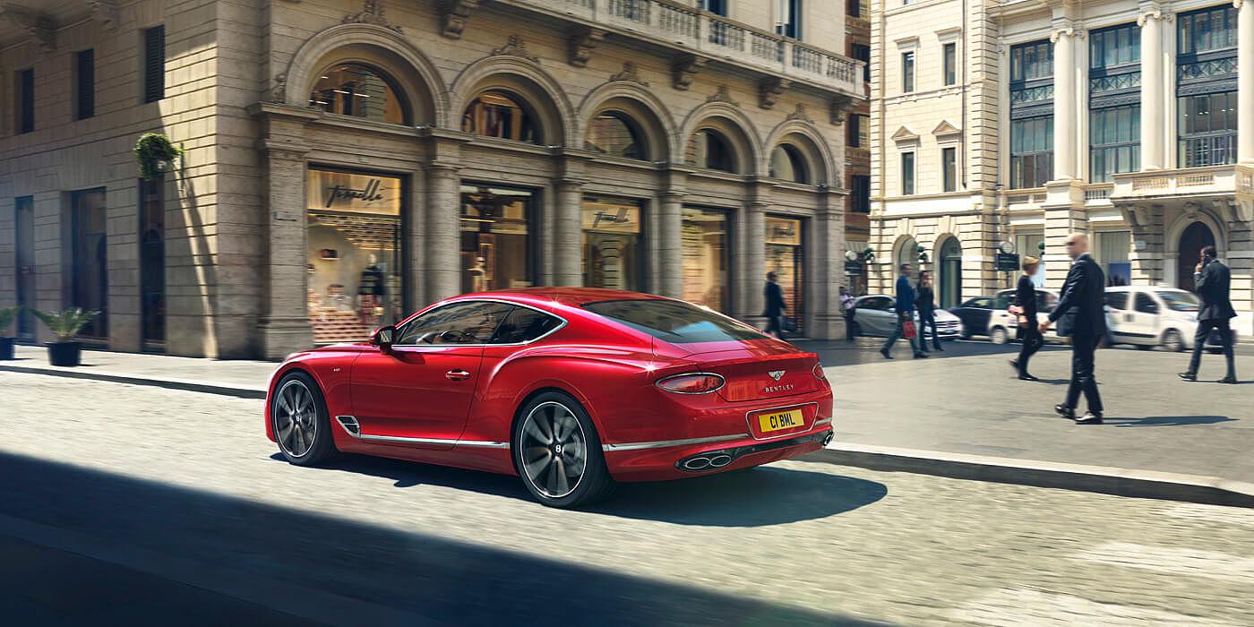 El Bentley Continental GT V8 2020 infunde respeto por su diseño y prestaciones