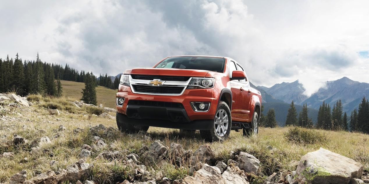 La Chevrolet Colorado LT 4x4 2020 luce vigorosa y robusta