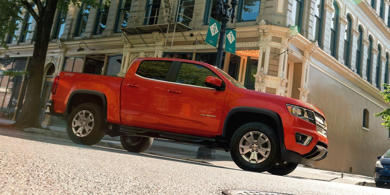 La Chevrolet Colorado LT 4x4 2020 tiene un precio competitivo en el segmento