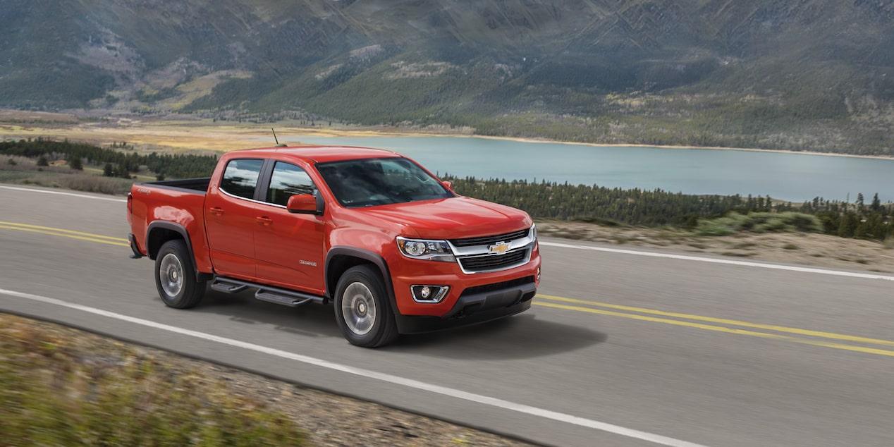 La Chevrolet Colorado LT 4x4 2020 va sobrada de potencia en la mayoría de situaciones