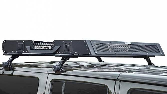 La canastilla sobre el techo aumenta de forma sustancial la capacidad para transportar equipaje y otros objetos