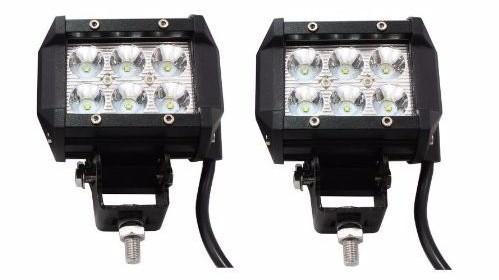 Las luces exploradoras mejoran notablemente la visibilidad sobre el camino