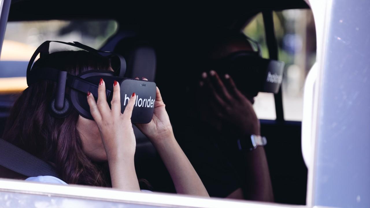 Holoride realidad virtual