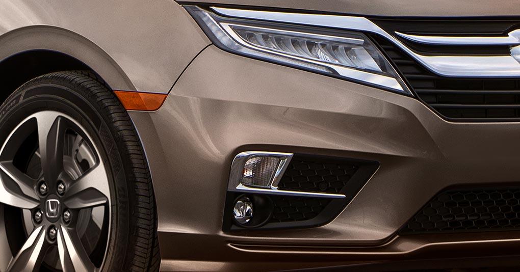El diseño de la Honda Odyssey 2020 precio en México destaca por sus trazos y silueta aerodinámica