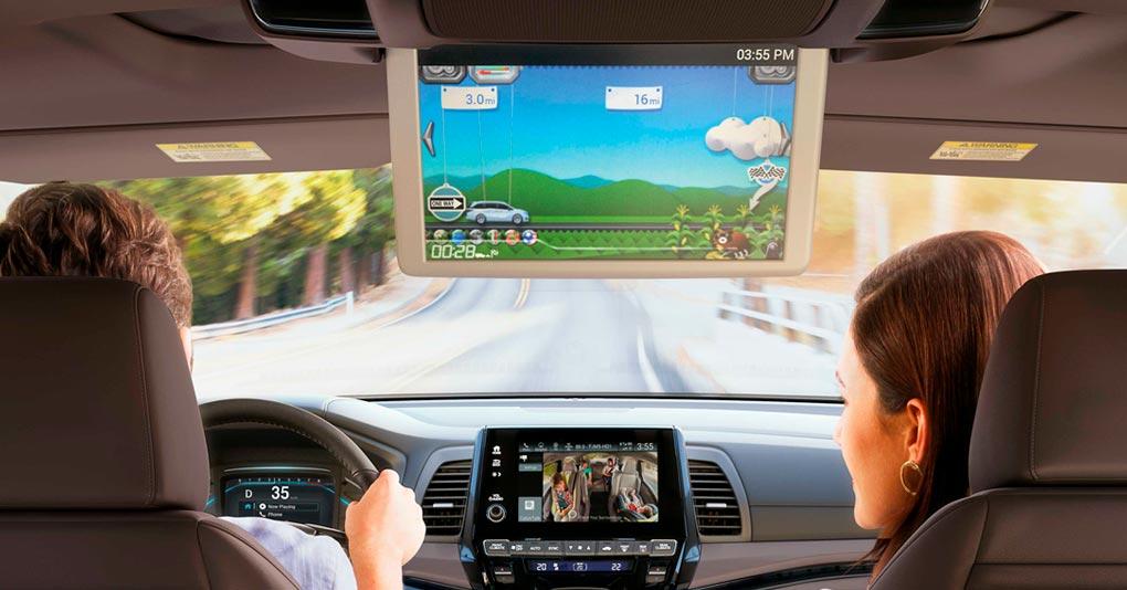 La Honda Odyssey 2020 precio en México lleva diferentes opciones para el entretenimiento de nuestros acompañantes