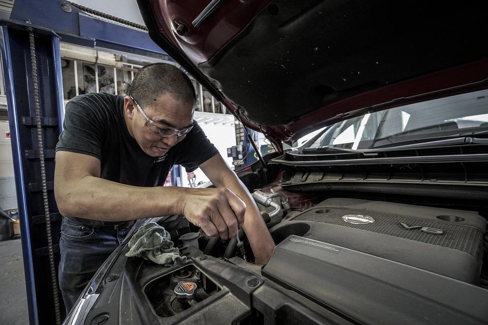 Aceite para motor a diesel taller automotriz
