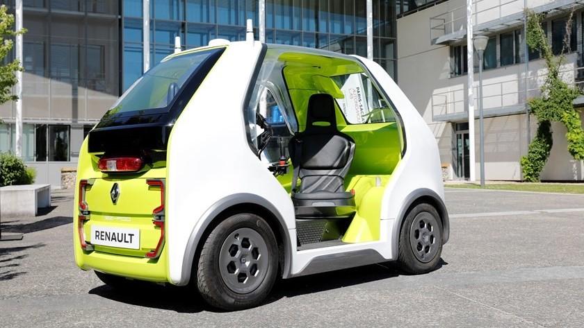 Los taxis autónomos de Renault están siendo probados en la capital francesa
