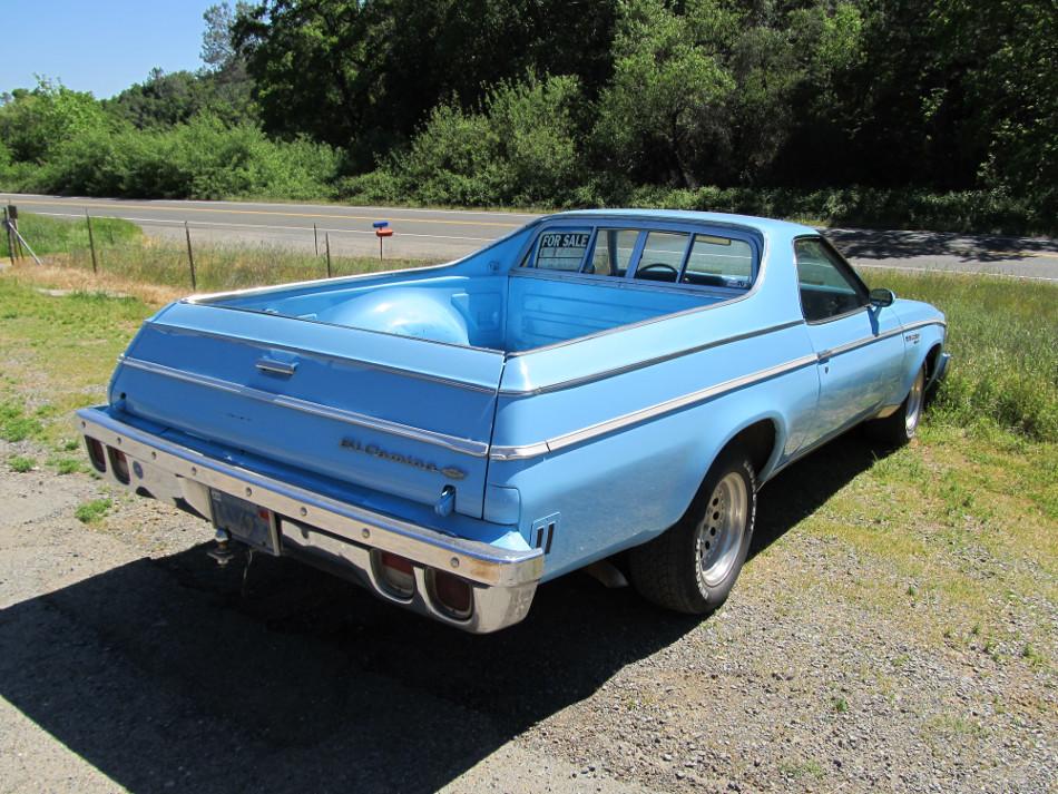 La Chevrolet El Camino se hizo para competir con El Ranchero de Ford