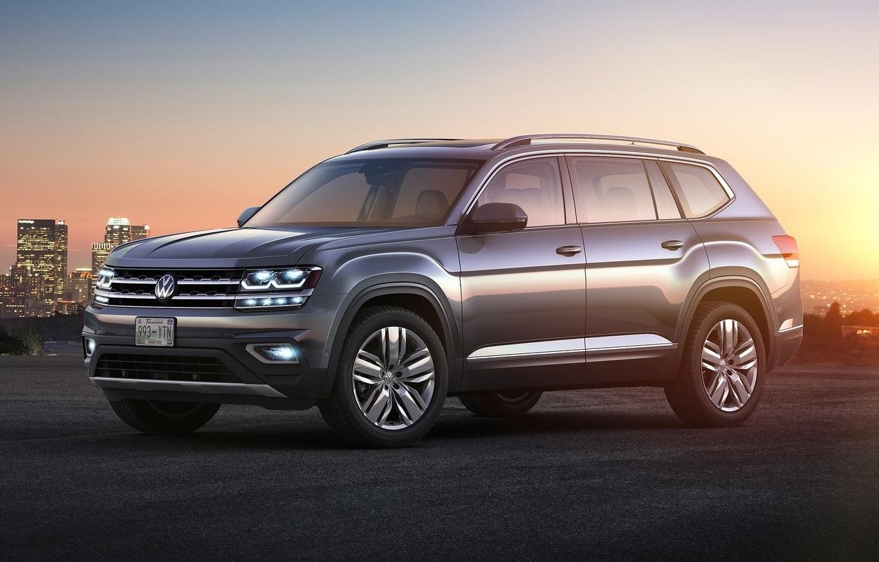 Autos que mas fallan en mexico Volkswagen Atlas gris