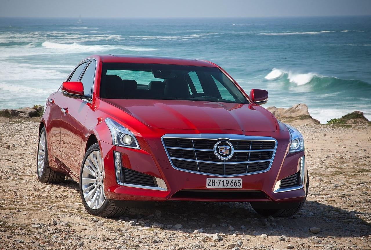 Autos que mas fallan en mexico Cadillac CTS rojo