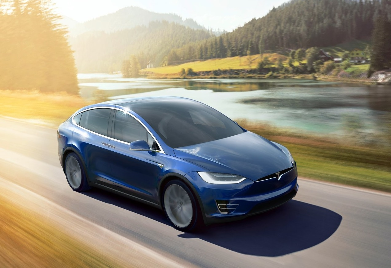 Autos que mas fallan en mexico Tesla Model X color azul