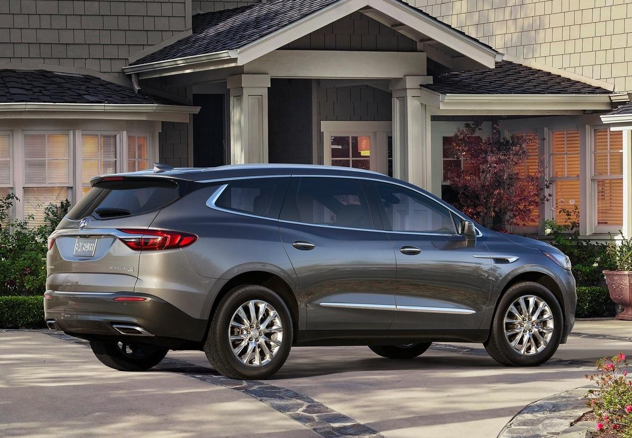 Autos que mas fallan en mexico Buick Enclave color gris