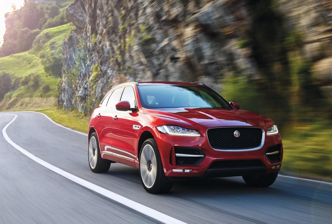Autos que mas fallan en mexico Jaguar F-Pace color rojo