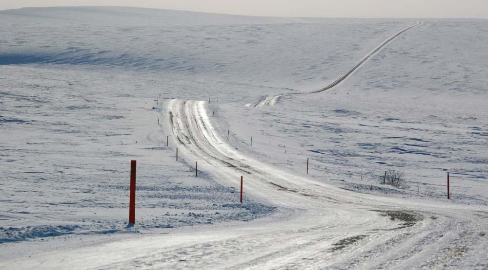 Las carreteras mas peligrosas del mundo Dalton en Alaska en Estados Unidos
