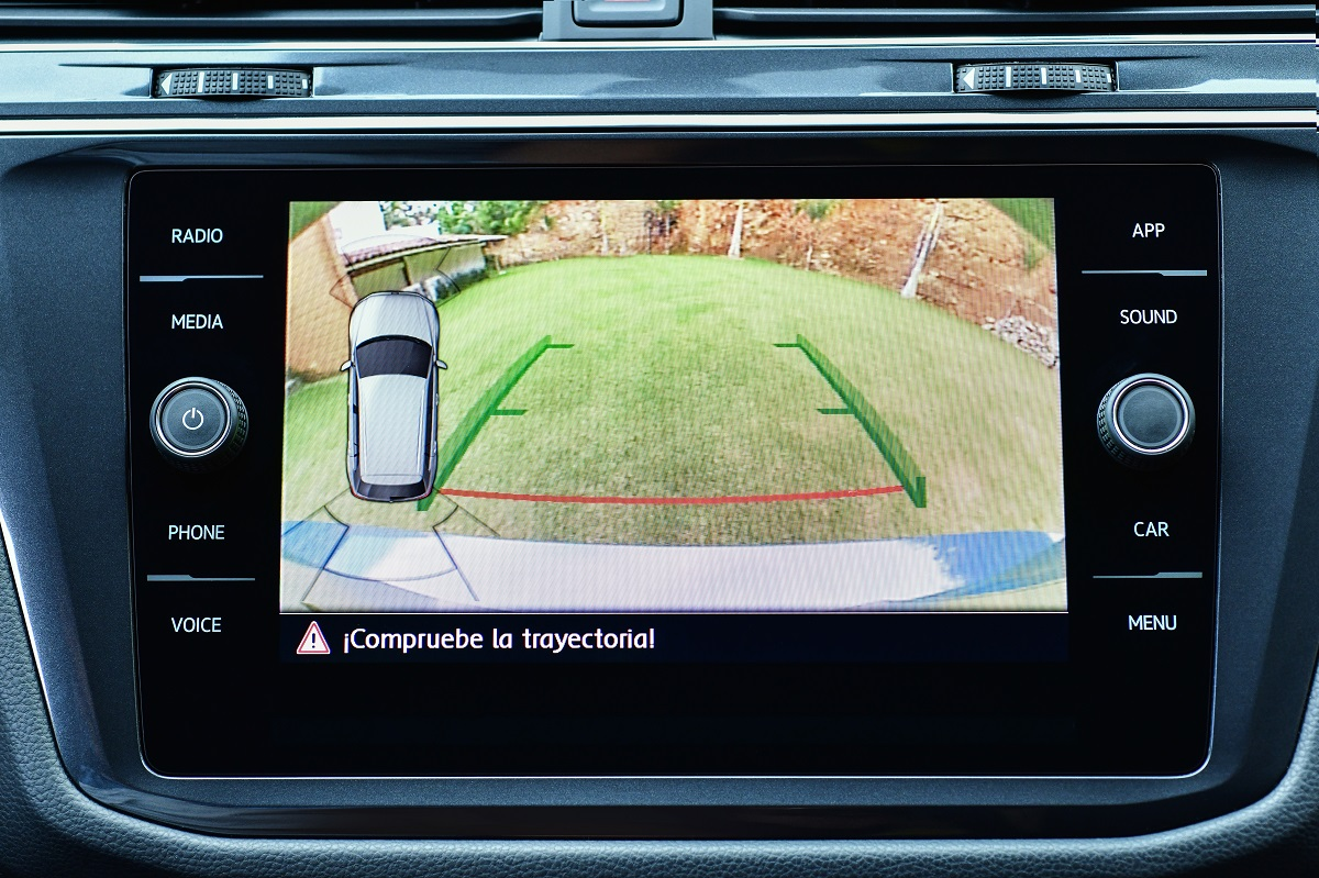 Volkswagen Tiguan 2020 cámara