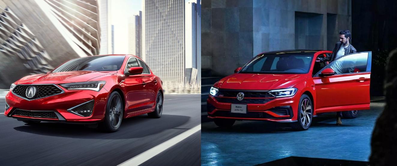 Comparativa: Volkswagen Jetta GLI 2019 vs. Acura ILX A-Spec 2019