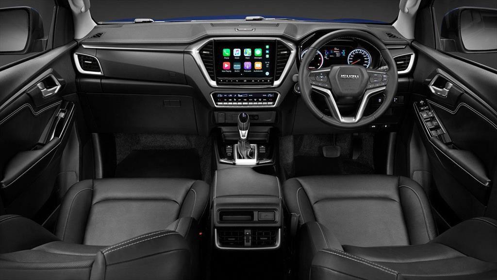 La Isuzu D-Max 2020 tiene un interior confortable