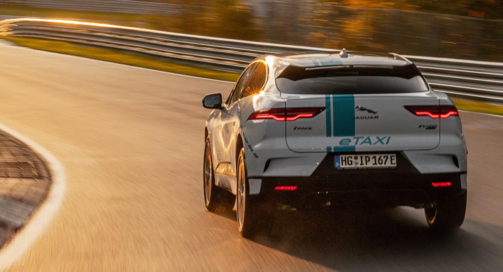 Jaguar I-Pace Race Taxi
