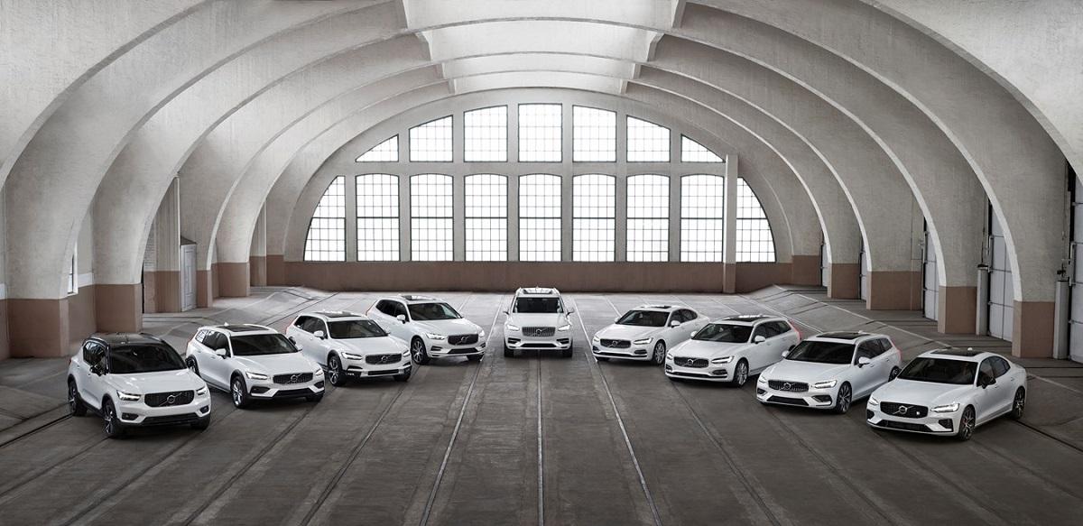 Volvo línea coches