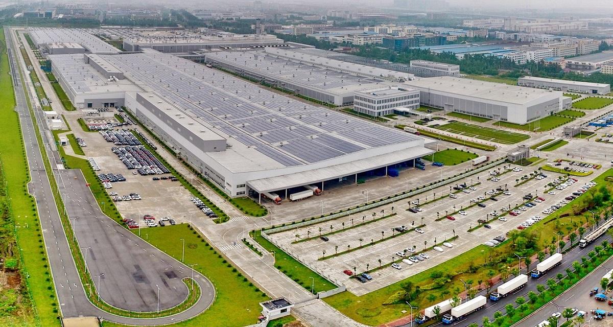 Volvo planta ensambladora China