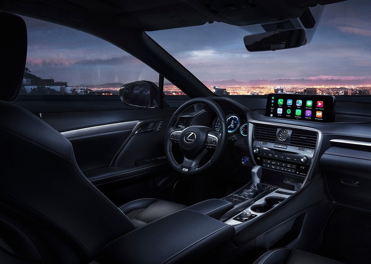 Lexus RX infoentretenimiento