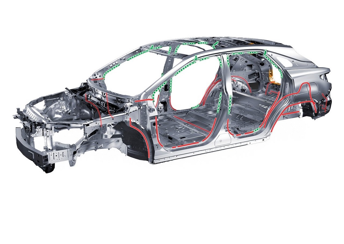 Lexus RX chasis