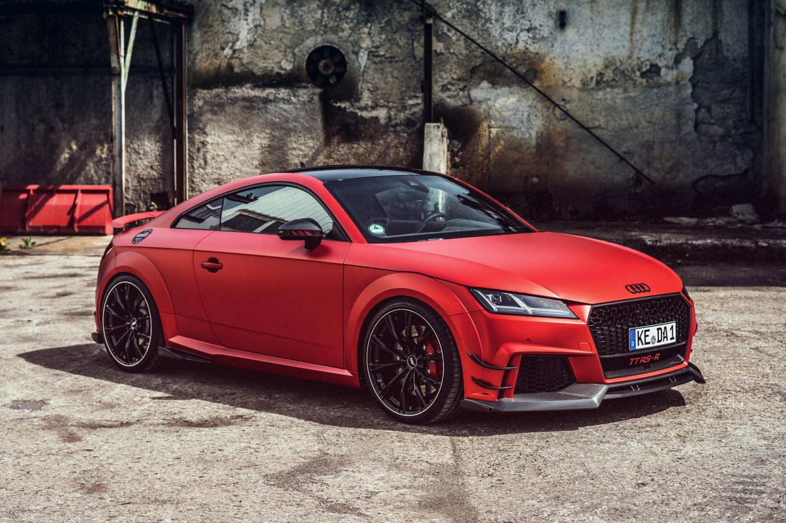 Abt Llena De Poder Al Audi Tt Rs