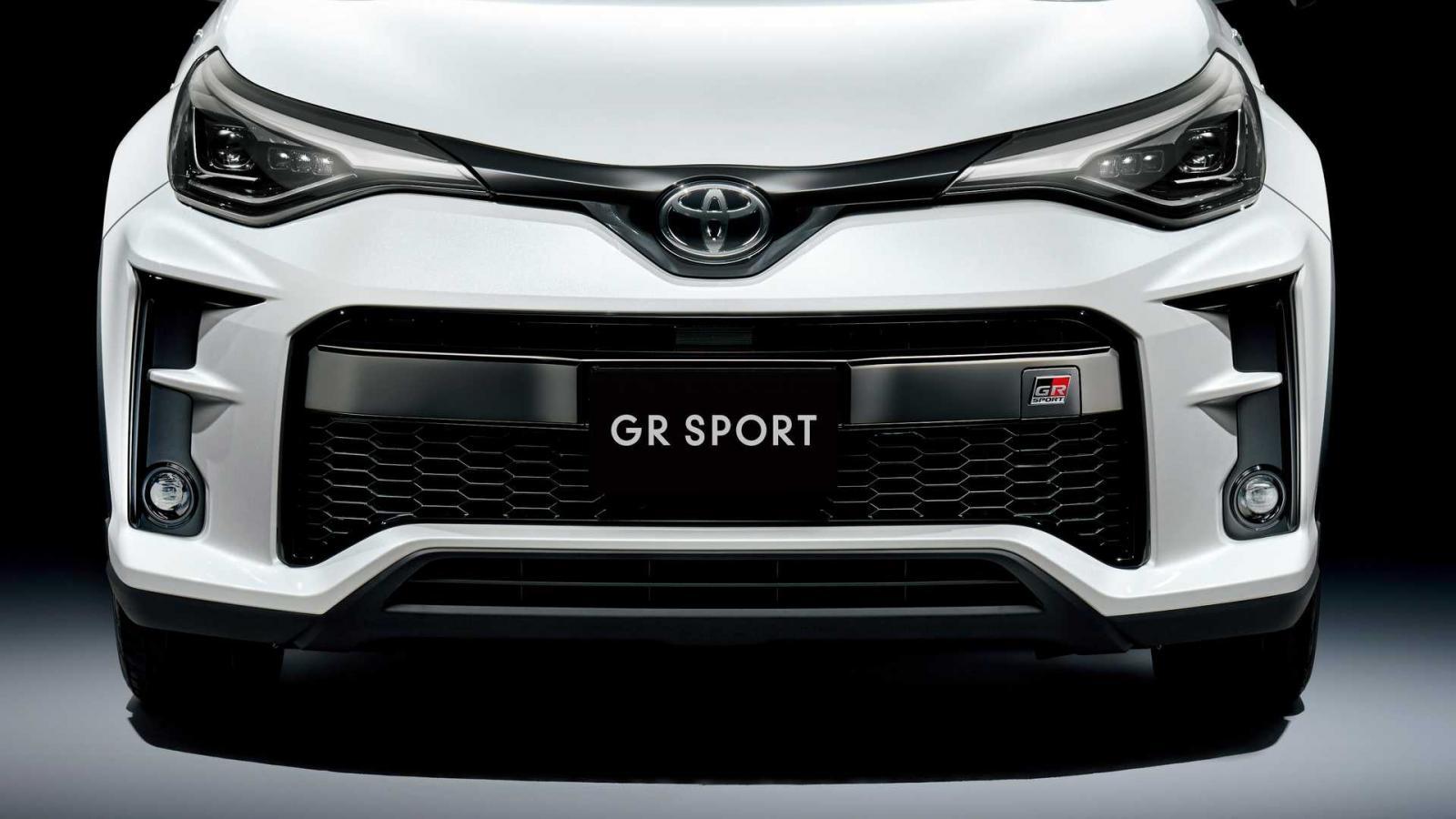 La Toyota C-HR GR Sport está inspirada en los autos de carreras