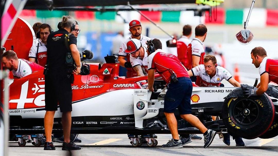 Alfa Romeo no ha tenido buenos resultados en la temporada actual