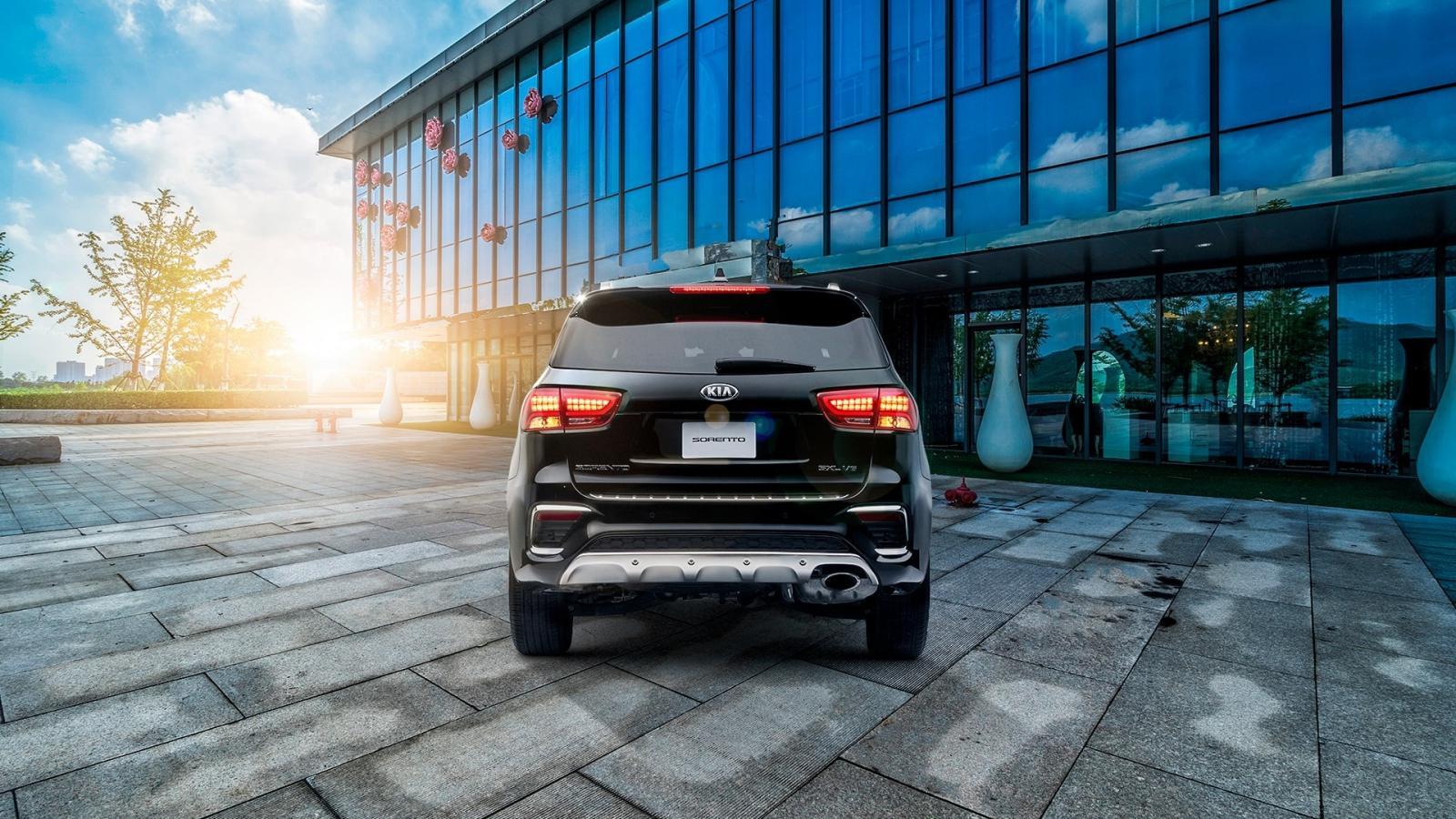 La carrocería de la Kia Sorento 2020 precio está cargada de dinamismo