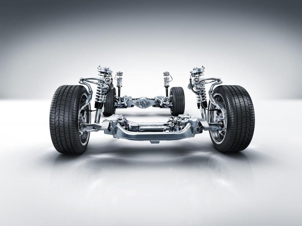 Sistema de suspension automotriz