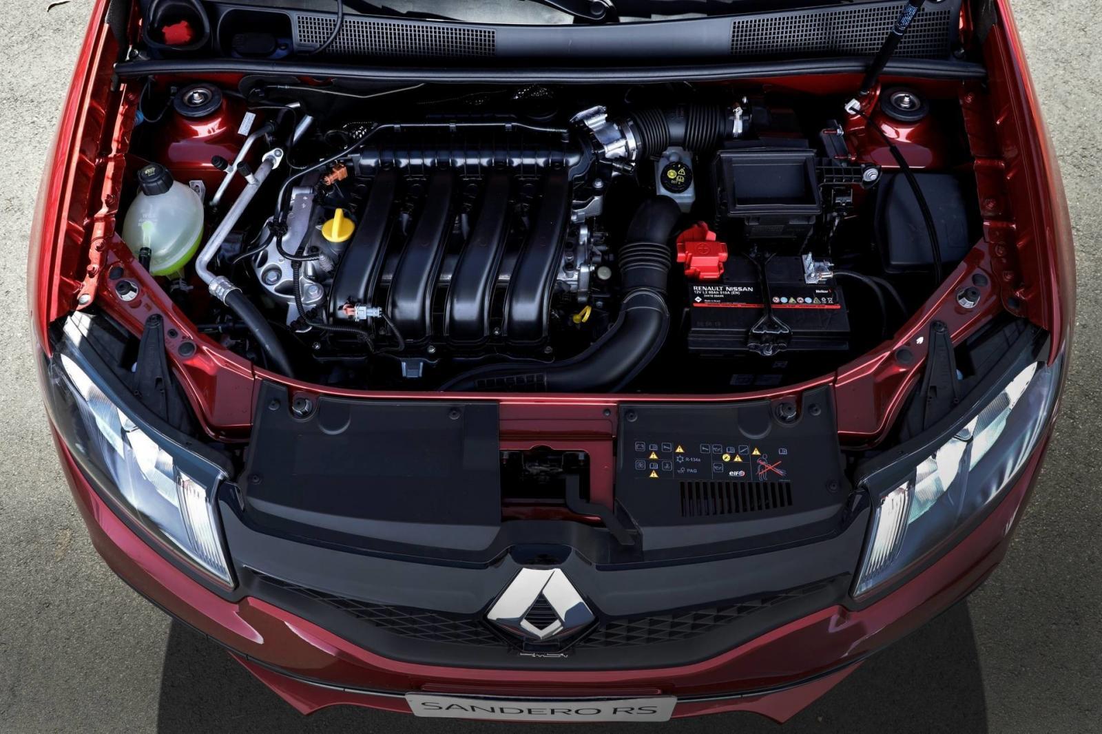 El Renault Sandero RS 2020 precio tiene un motor atmosférico de 2.0 litros
