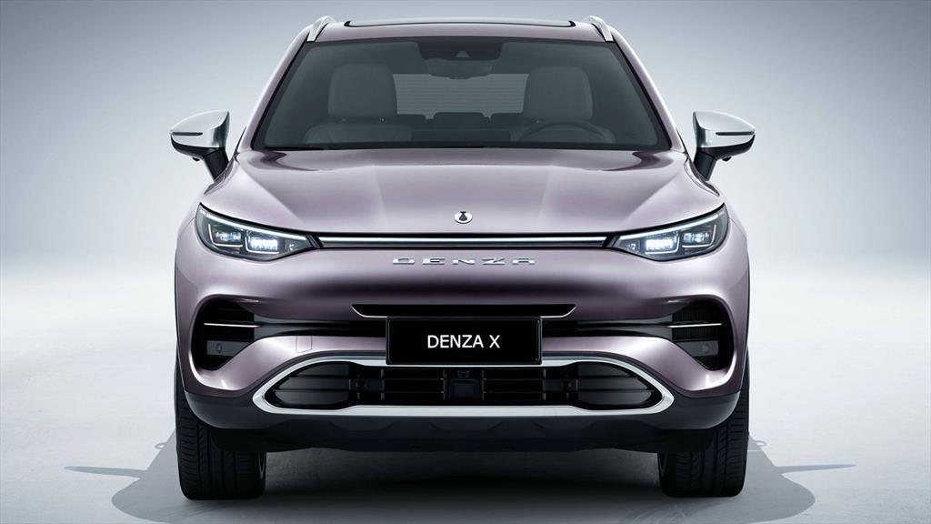 La Denza X es una SUV en la que Mercedes-Benz colaboró con el diseño