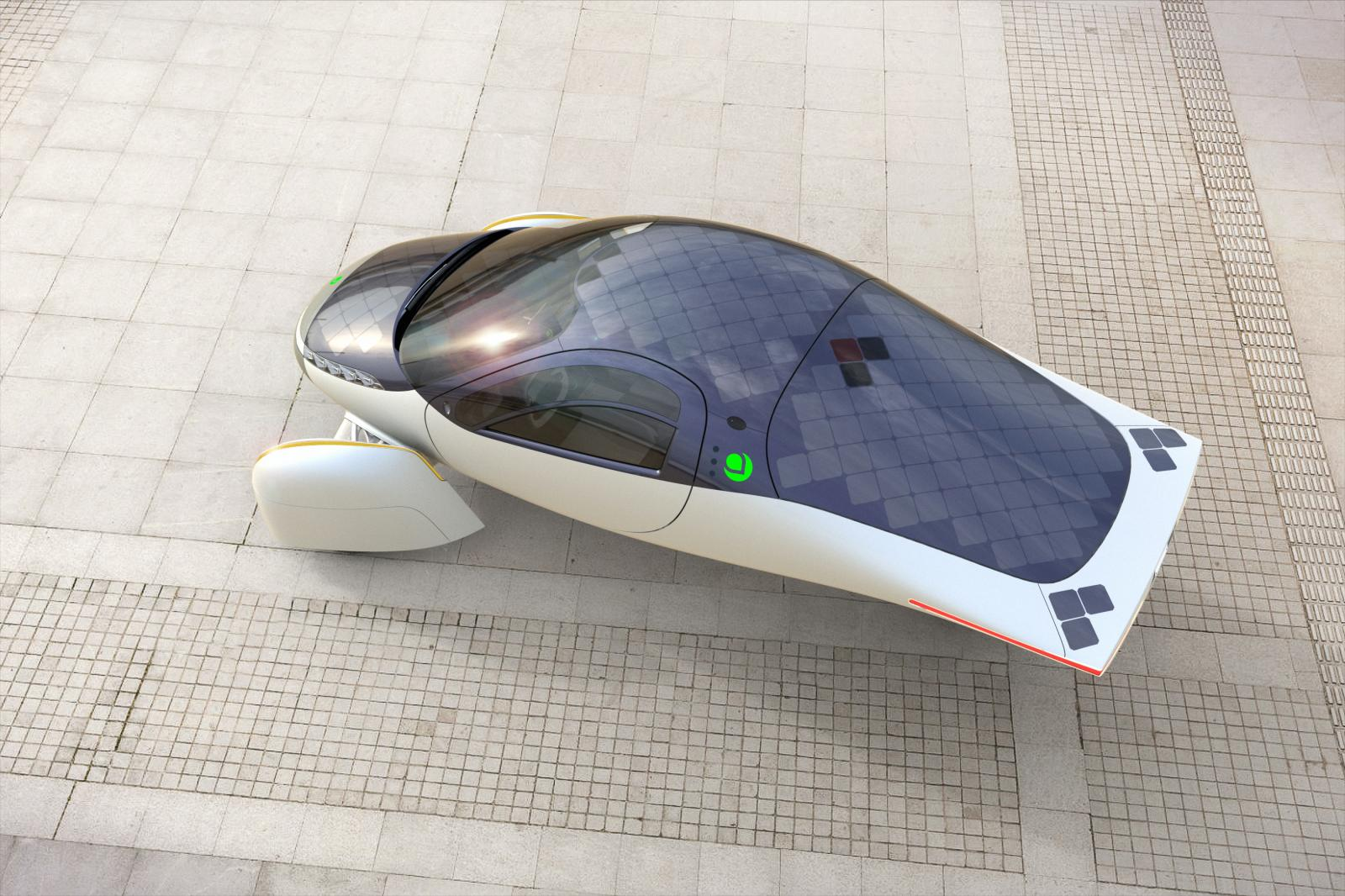 Aptera, el auto eléctrico con más de 1,000 kilómetros de autonomía
