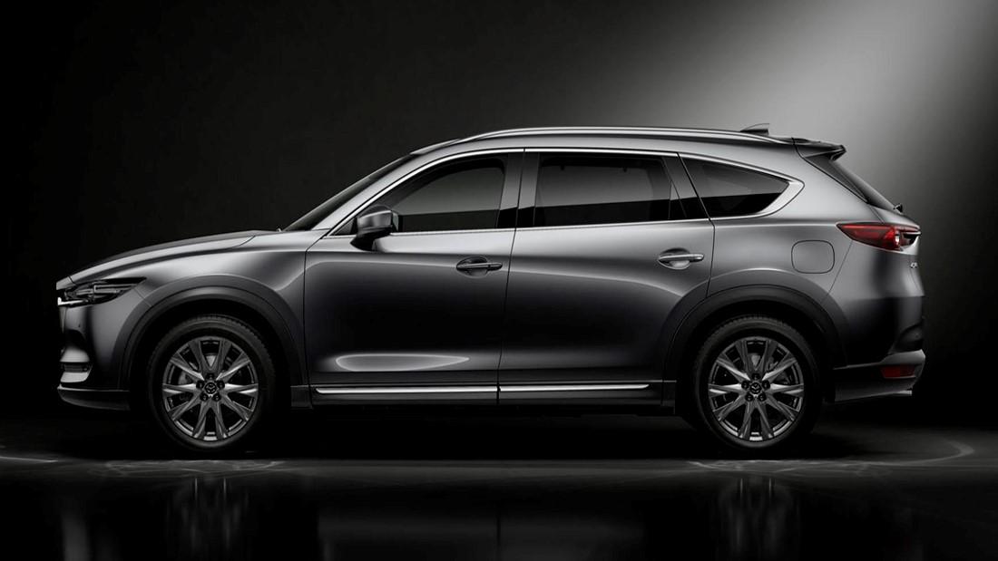La Mazda CX-8 2020 presentó sus novedades en el Auto Show de Tokio 2019