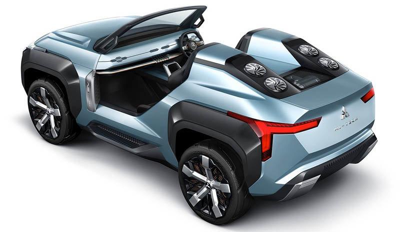 La Mitsubishi Mi-Tech Concept revela los planes que tiene la marca para sus SUV medianas y pequeñas