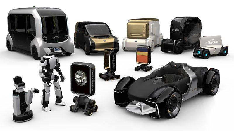 Los dispositivos Toyota que podrán ver en el stand