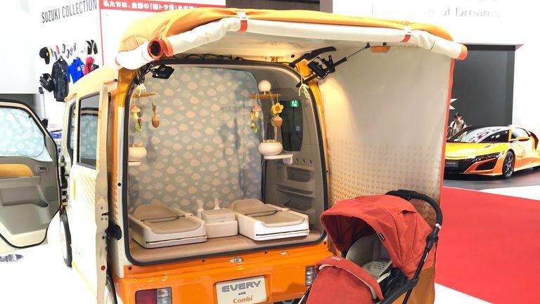 Suzuki Every Go Anywhere Baby Room