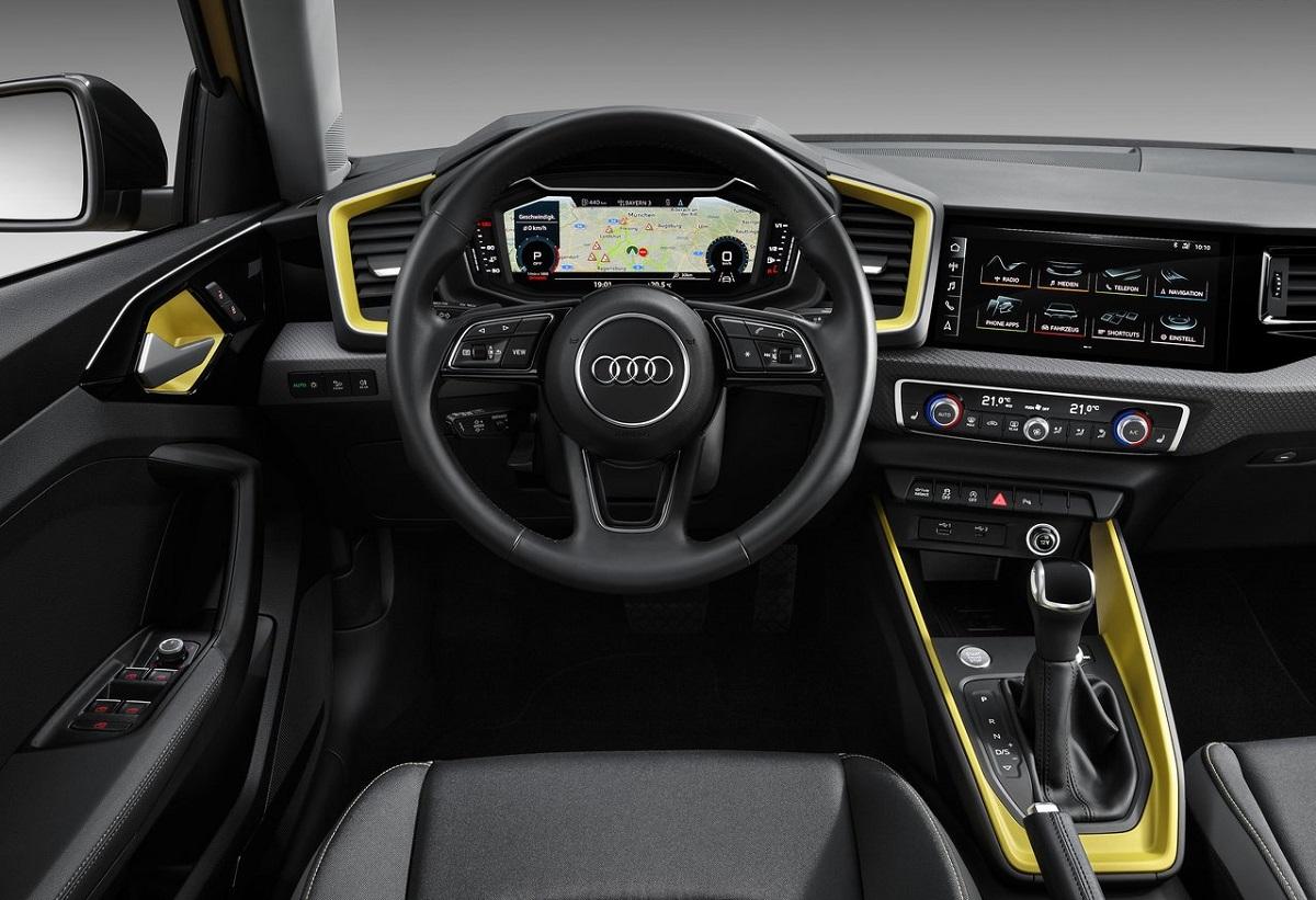 Audi A1 2020 interior