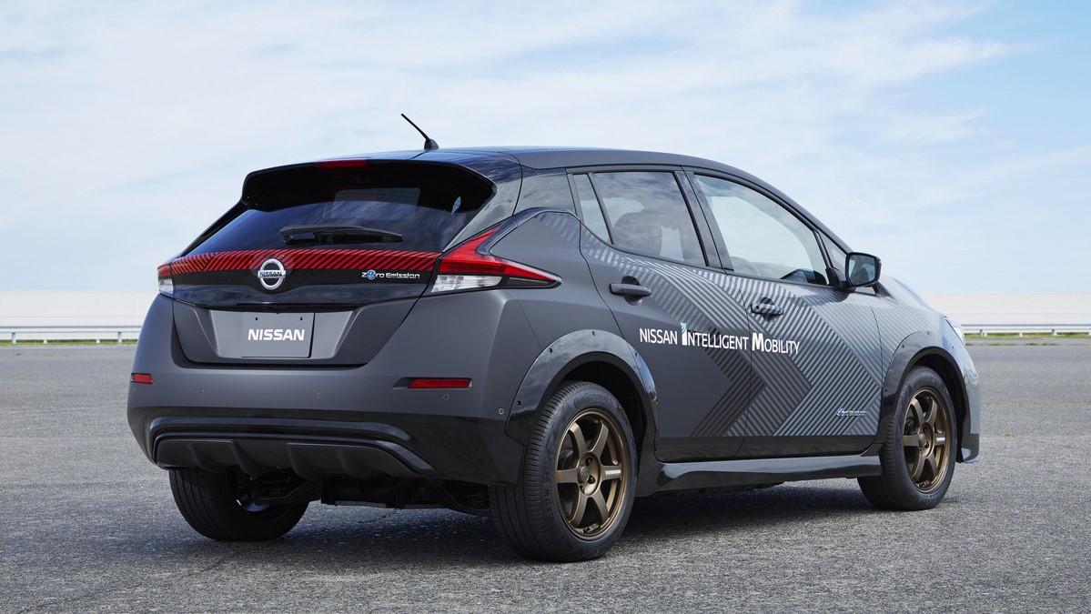 El prototipo del Nissan Leaf es un adelanto de lo que podría implementar la marca en sus compactos eléctricos