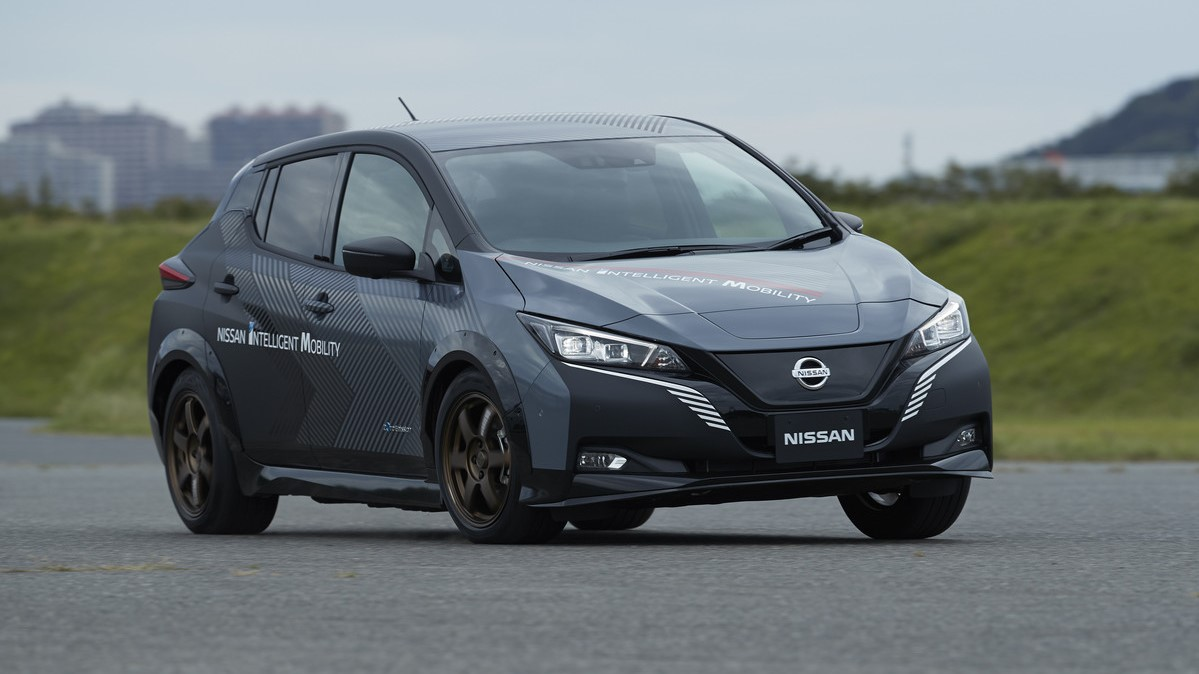 Este Nissan Leaf con 304 caballos de fuerza no saldría a la venta en el corto o mediano plazo