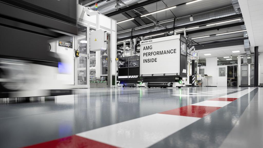 Planta Affalterbach Mercedes-AMG