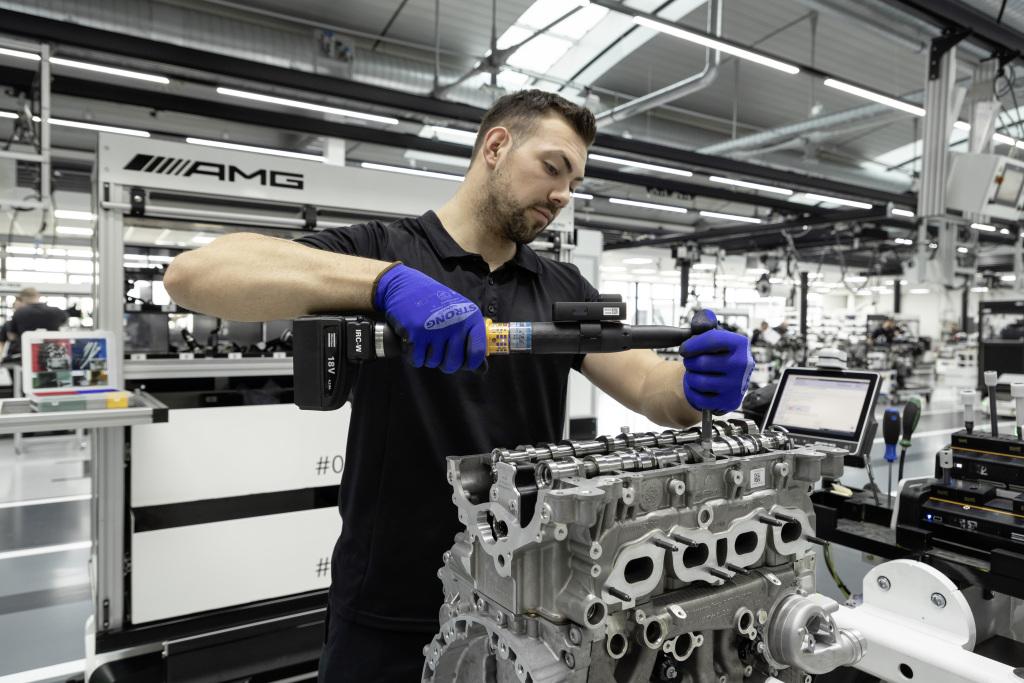 Mercedes-AMG Affalterbach ensamblaje