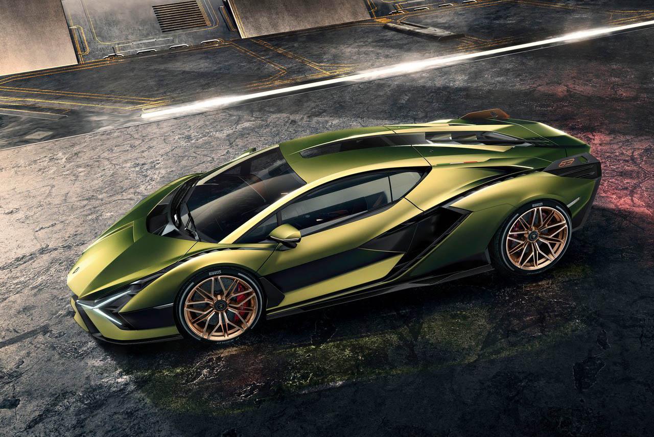 El Lamborghini Sián es el primer híbrido de la marca