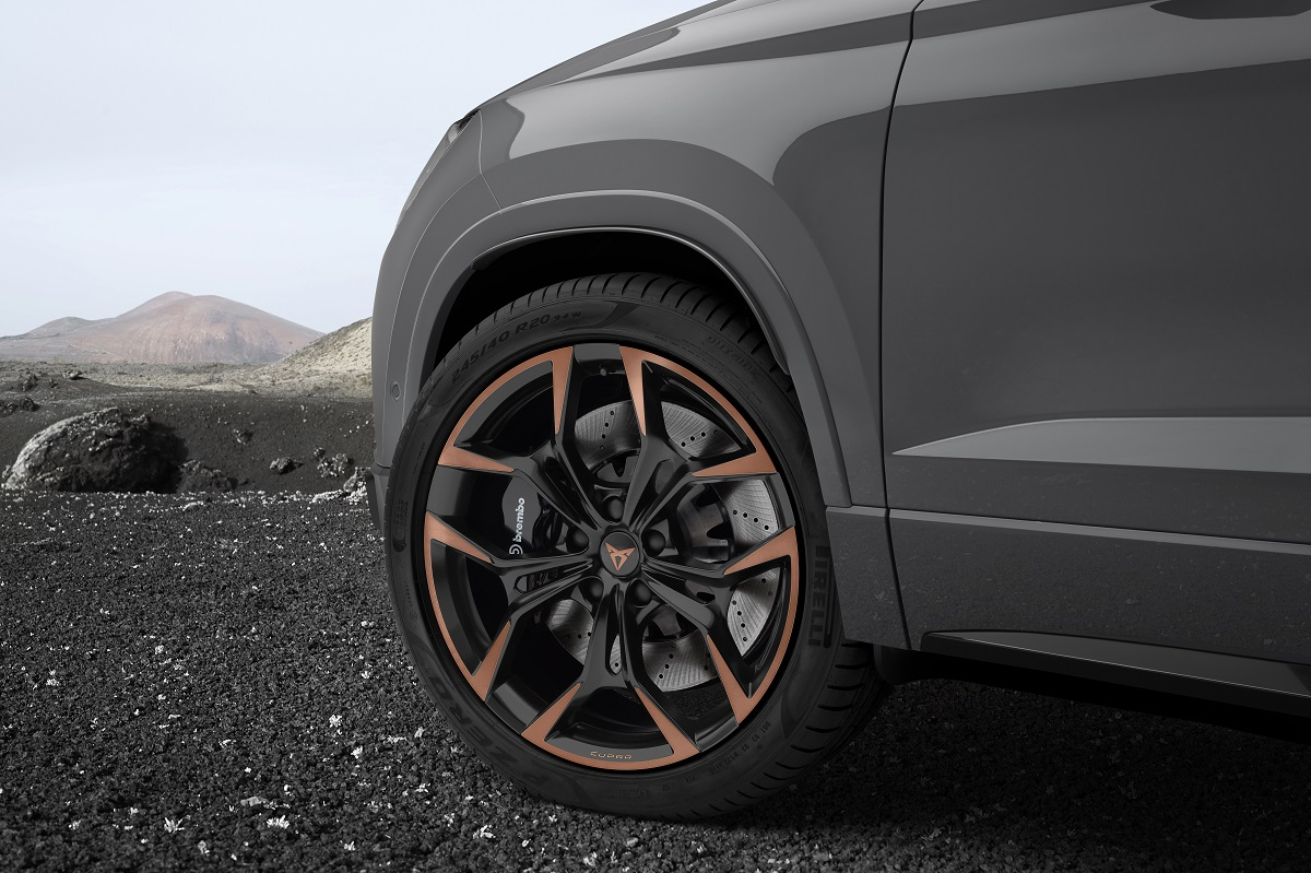 Cupra Ateca Limited Edition rines